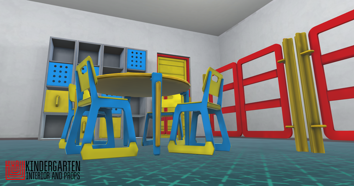 Kindergarten - interior and props