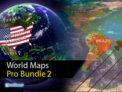World Maps Pro Bundle 2