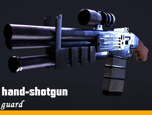 Hand-shotgun ''Guardian''