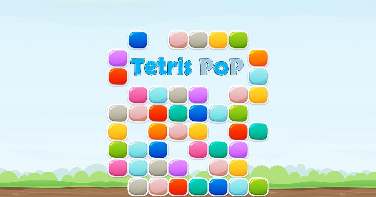 Tetris Pop - game template