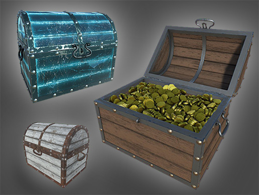 Treasure Chest PBR