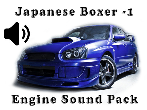 Boxer Japanese - Engine Sound Pack - 1