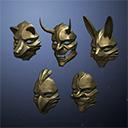 Japanese Noh Masks