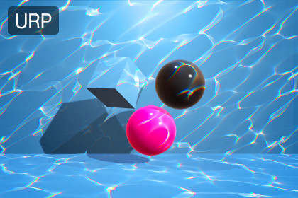 Water Caustics Effect for URP