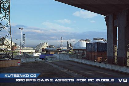RPG/FPS Game Assets for PC/Mobile (Set v8.0)