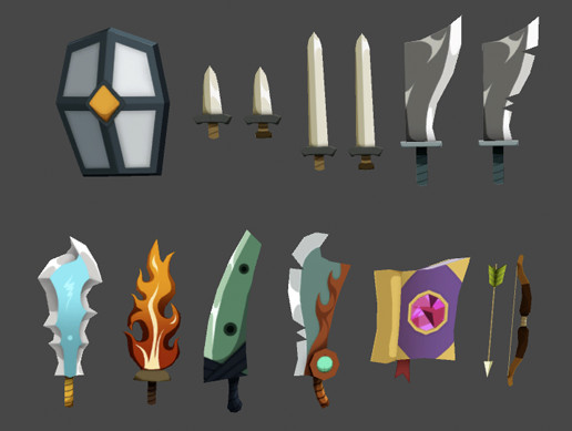 Cartoon Style Weapon Pack