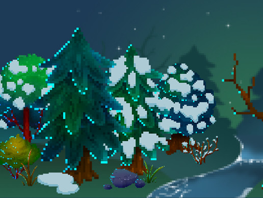 Pixel Forest Pack