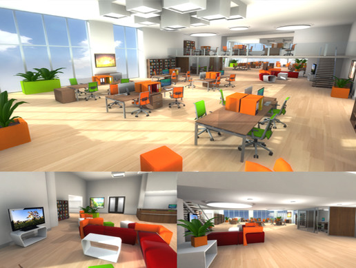 Awesome 3D Office Furniture