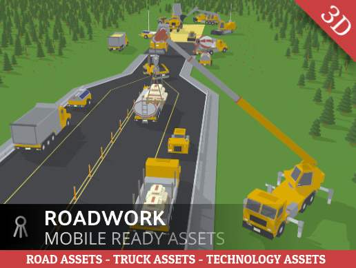 Simple roadwork assets