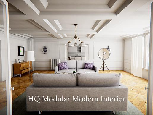 HQ Modular Modern Interior