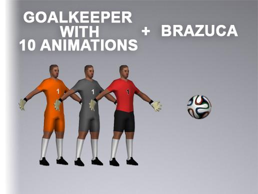Soccer Goalkeeper 1008 Tris