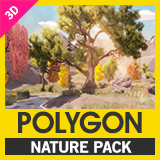 POLYGON Nature - Low Poly 3D Art by Synty