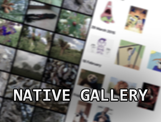 Native Gallery for Android & iOS