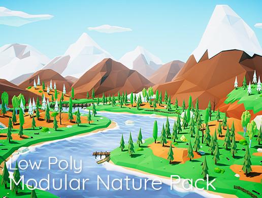 Low Poly Modular Nature Pack