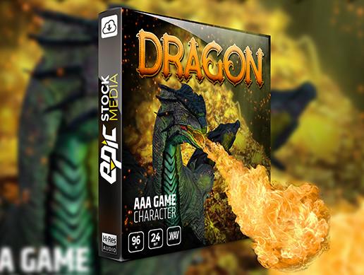 AAA Game Character Dragon
