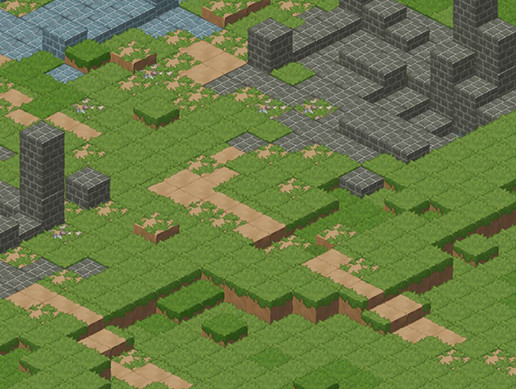 2D Casual Isometric basic pack