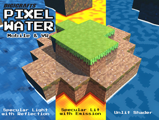 Pixel Water - GPU Animated Water