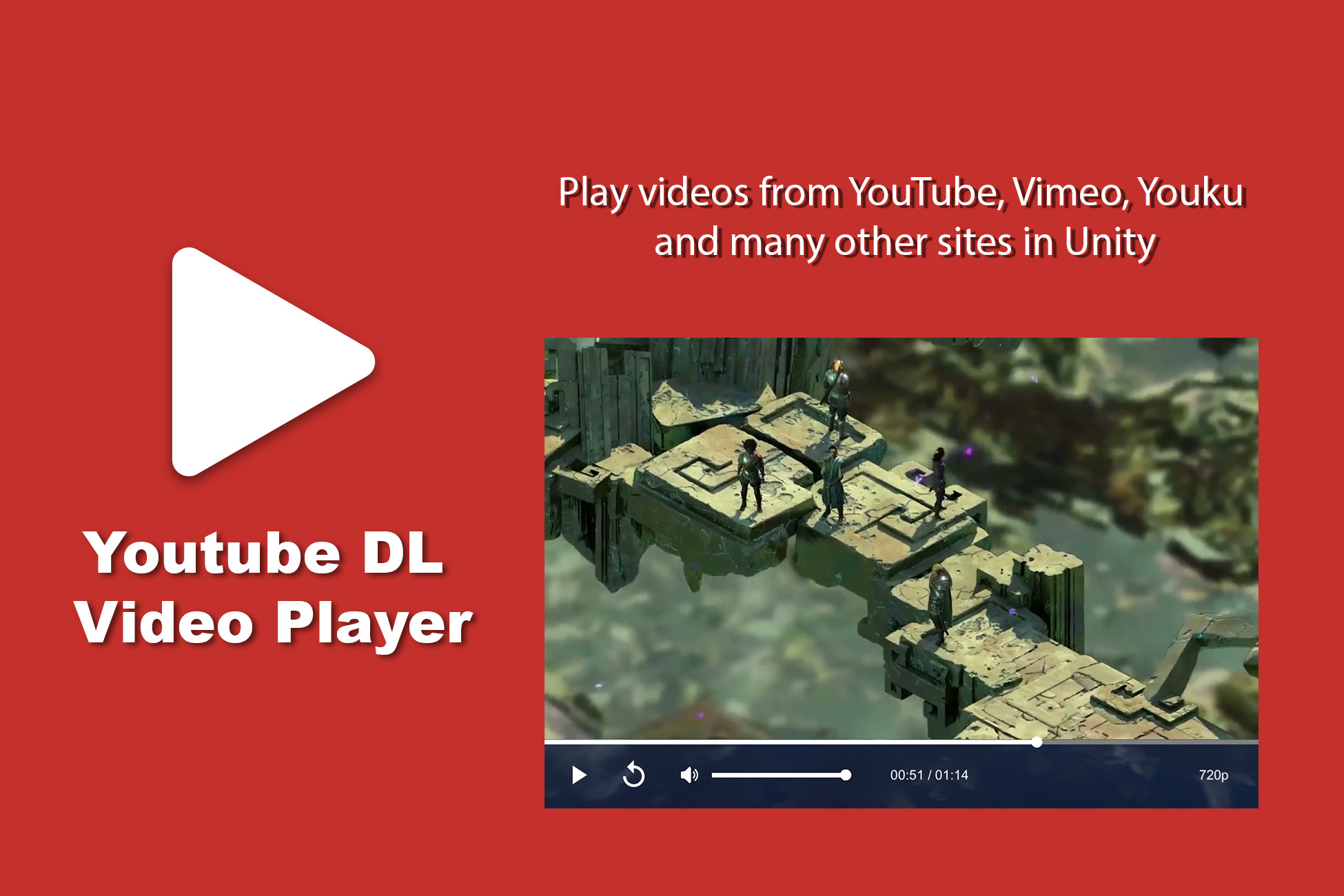 Youtube DL Video Player