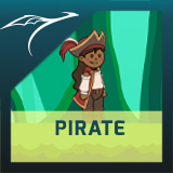 2D Animated Pirate