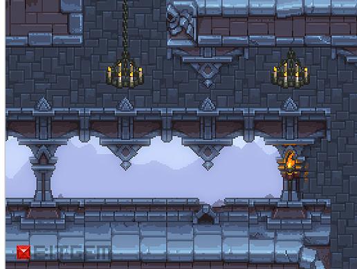 2D Pixel Side Scroller Level Set