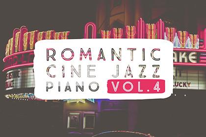 ROMANTIC CINE JAZZ PIANO VOL.4