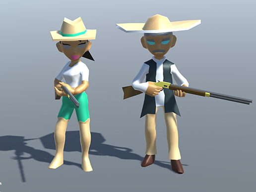 Free Wild West Characters
