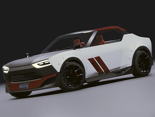 Realistic Mobile Car #06
