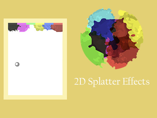 2D Splatter Effect - Free