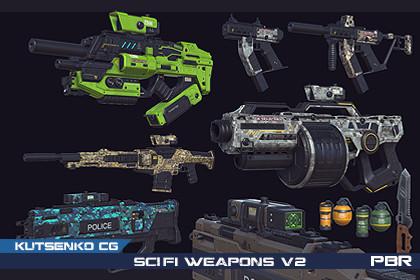 PBR SciFi Weapons v2