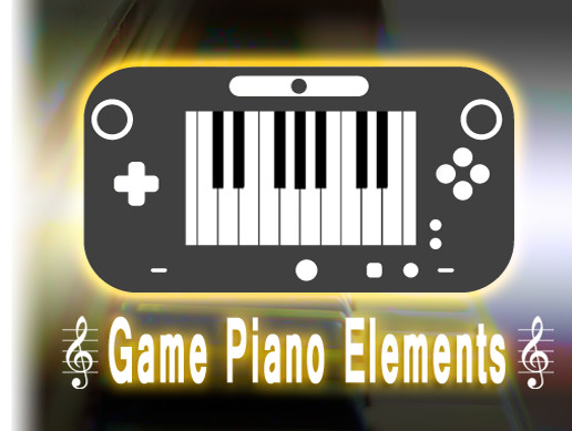 Game Piano Elements - Asset Store