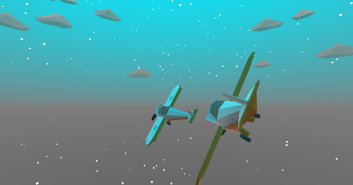 Simple Low-Poly Mini Airplanes