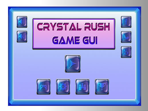 Crystal Rush GUI