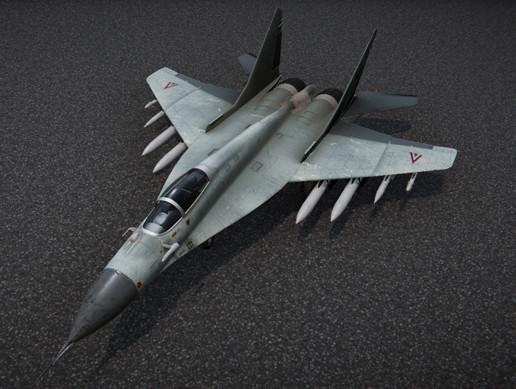 Mig 29 Fighter Jet