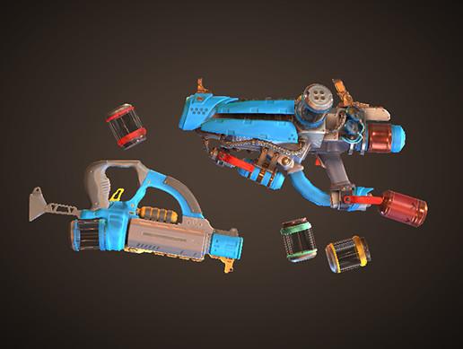 Stylized Paint Gun