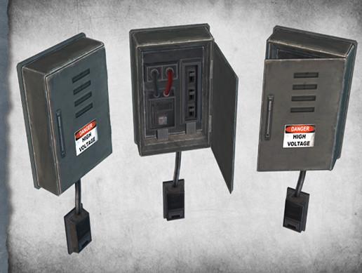 electric fuse box 03