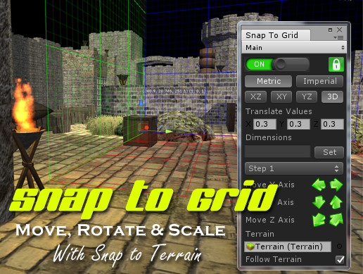 Snap To Grid - Asset Store