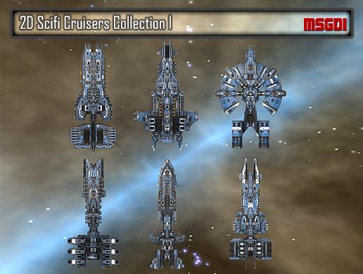 2D Cruiser Collection I