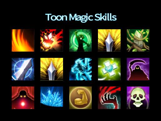 Toon Magic Skills