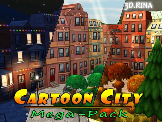 Cartoon City Mega-Pack