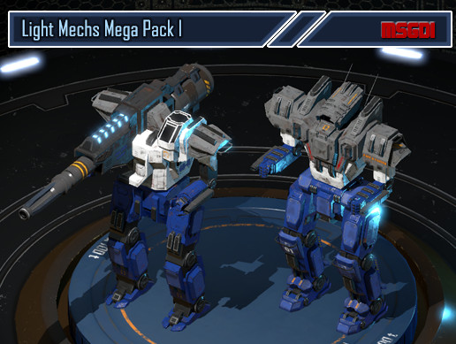 Light Mechs Mega Pack I