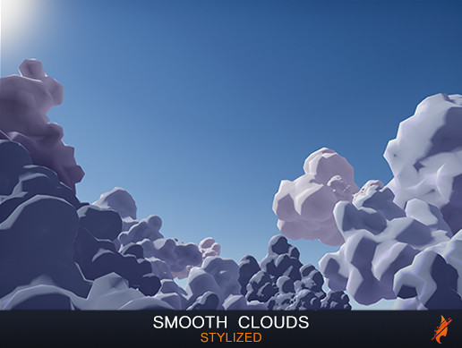 Stylized Smooth Clouds