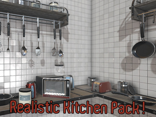 Realistic Kitchen Pack!