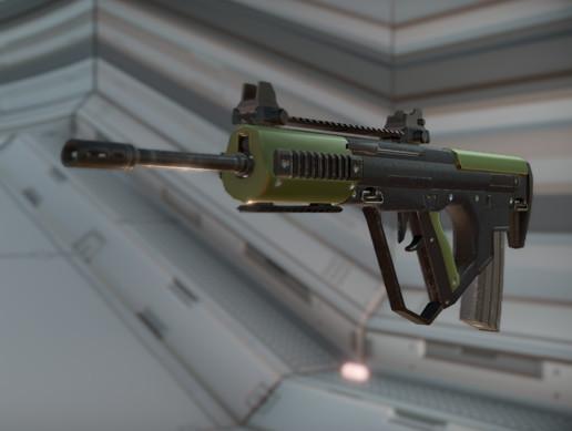 Compact Bullpup Assault Rifle