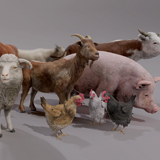 FARM ANIMALS PACK