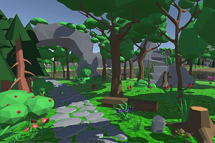 Low-Poly Nature Environment Pack