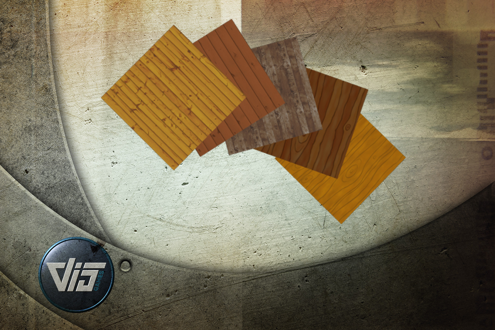 Cartoon Wood Textures
