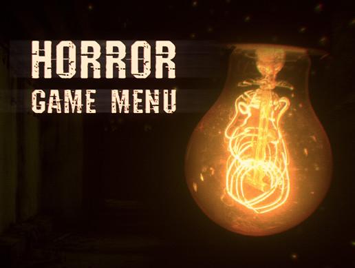 Horror game menu (AAA)