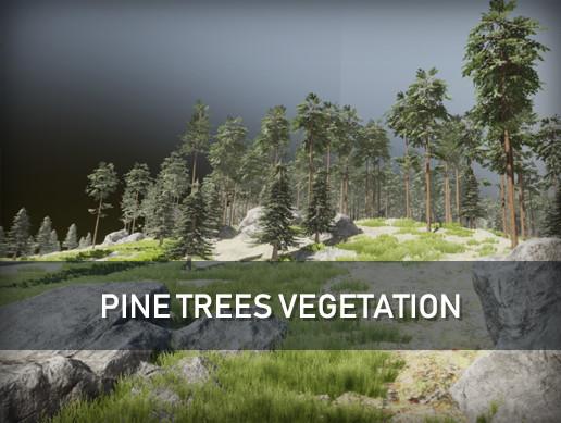 Pine Trees Vegetation Pack