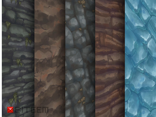 Texture Pack 15 Hand Painted