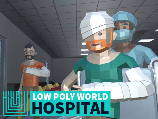 LOW POLY WORLD - HOSPITAL